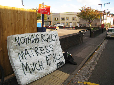 don't matress much at all