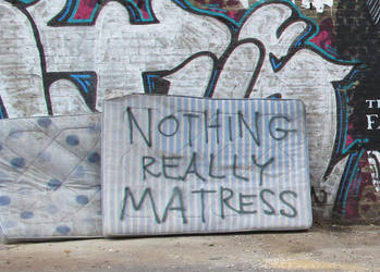 nothing matress still