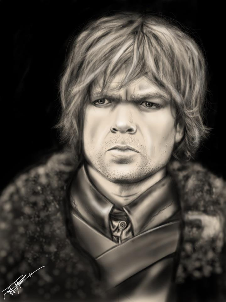 Tyrion Lannister Ipad Drawing by Jaemez on DeviantArt