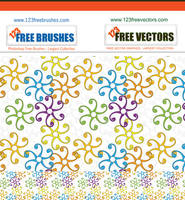 Seamless Swirl Pattern Vector by 123freevectors