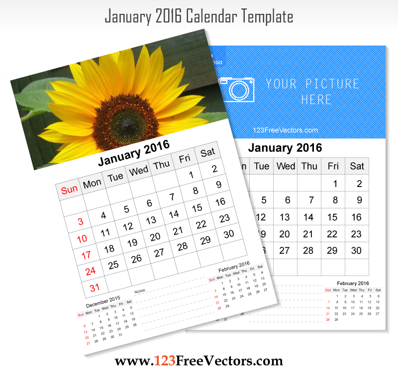 Corporate Wall Calendar Design Templates : Wall calendar january by freevectors on deviantart