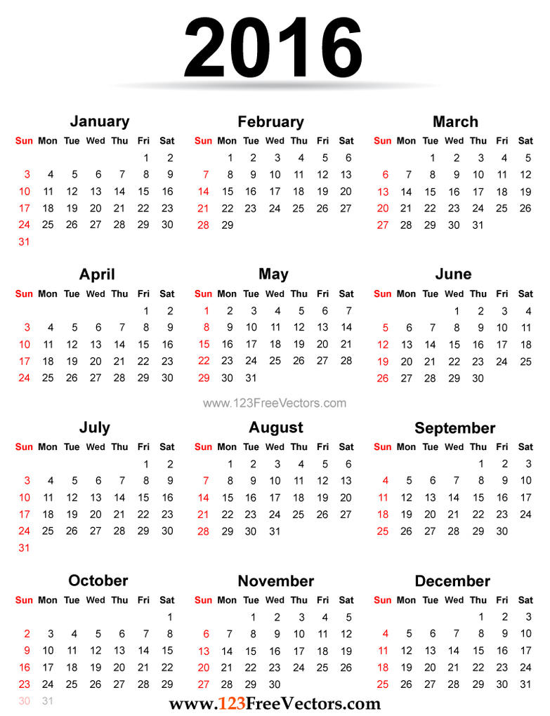 Calendar Vector : Calendar printable free by freevectors on deviantart