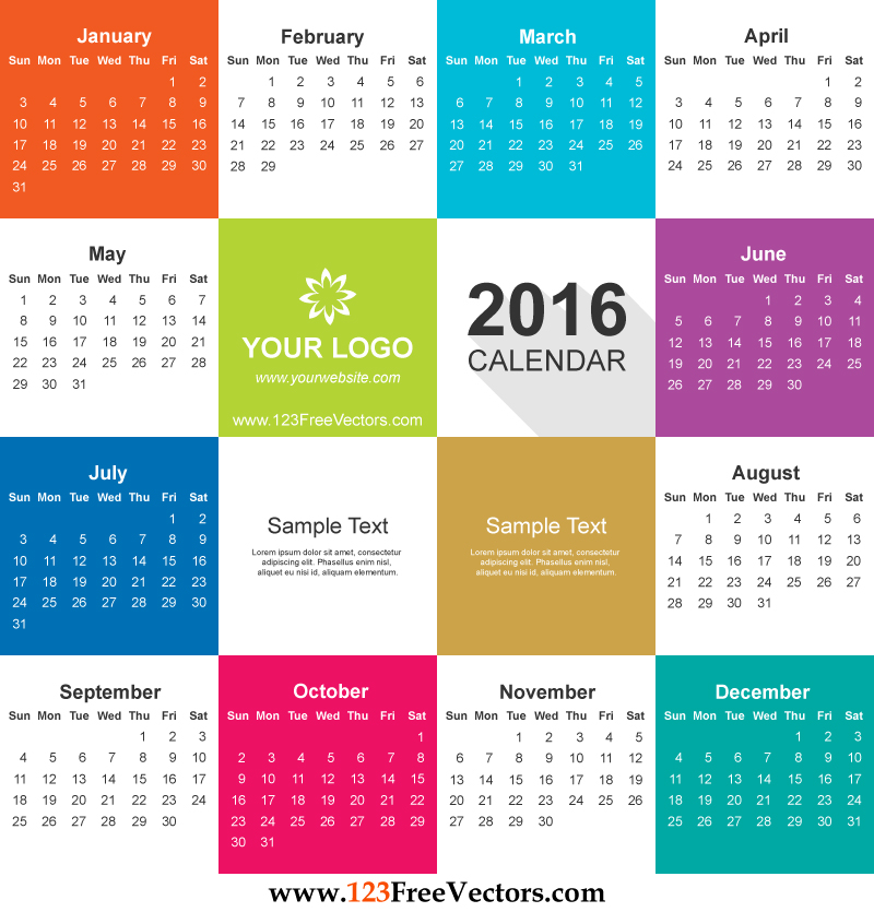 Calendar Vector Art : Calendar vector free download by freevectors on