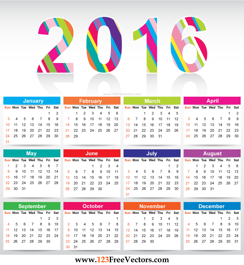 elementary school calendar templates