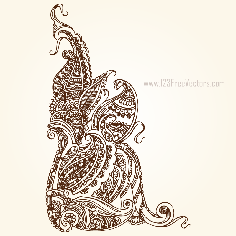 Free Paisley Images by 123freevectors on DeviantArt