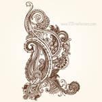 Henna Paisley Designs