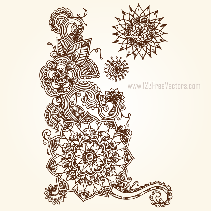 Floral Vector Eps Free Download by 123freevectors