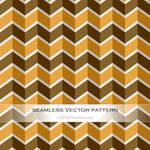 Vector Art Vintage Chevron Pattern