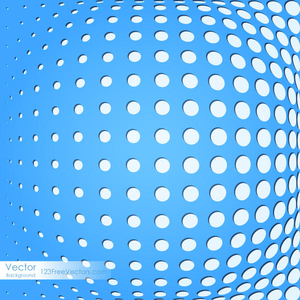 Abstract Blue Dot Background Image by 123freevectors on ...