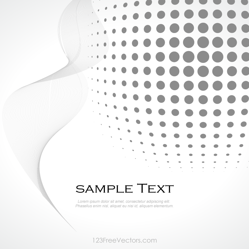 Line Art Vs Halftone : Abstract gray halftone background vector by freevectors