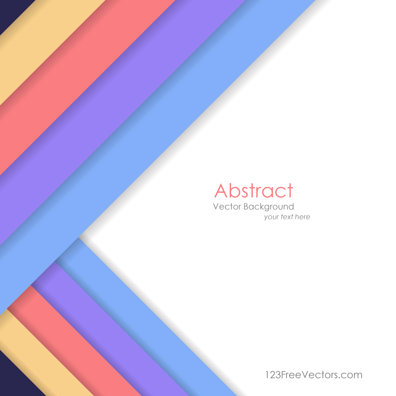 Abstract Geometric Background Vector by 123freevectors on ...