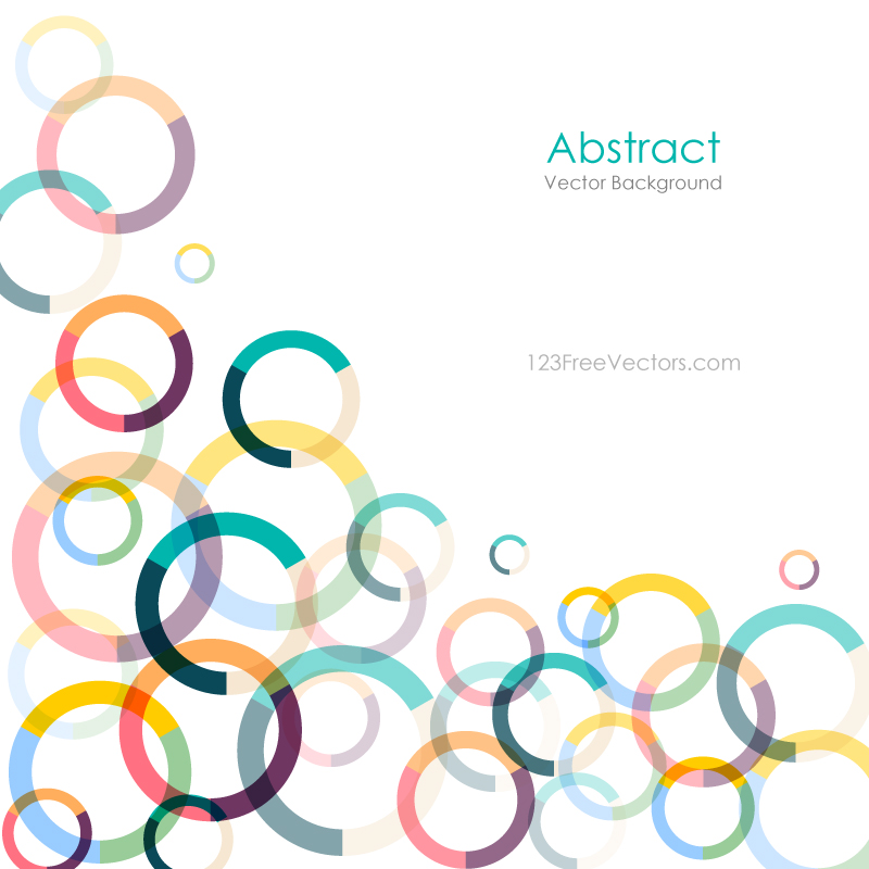 colorful circle vector graphic - photo #8