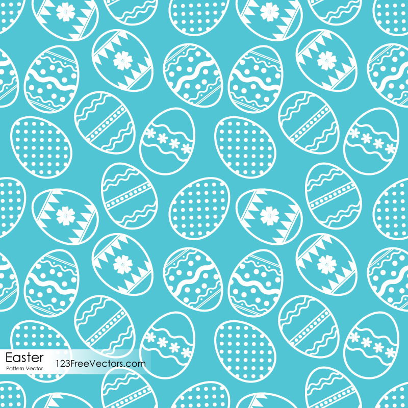 Easter Egg Pattern Vector Free Download By 123freevectors On DeviantArt