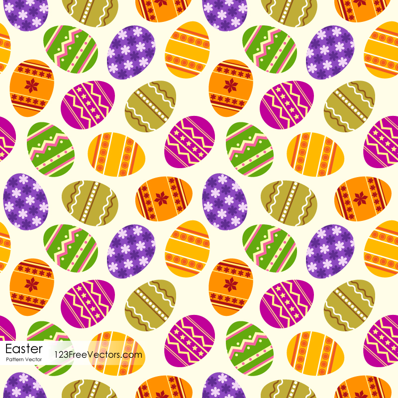 Free Easter Egg Pattern By 123freevectors On DeviantArt