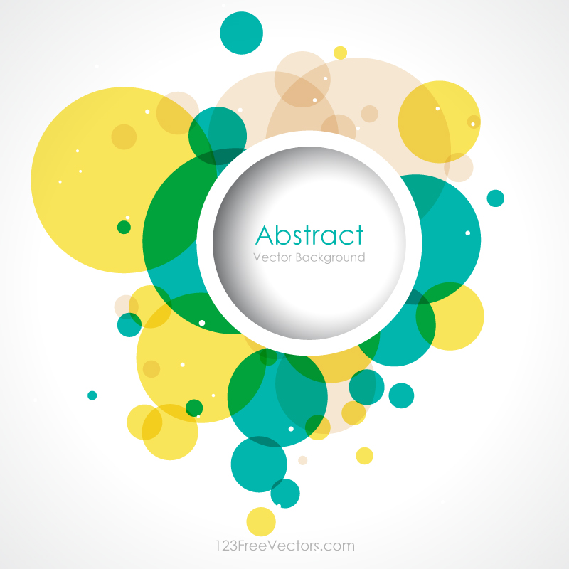 colorful circle vector graphic - photo #7