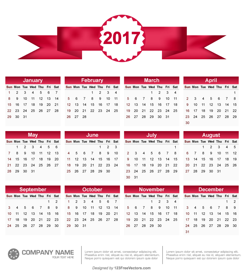 Calendar Vector : Printable calendar vector by freevectors on deviantart