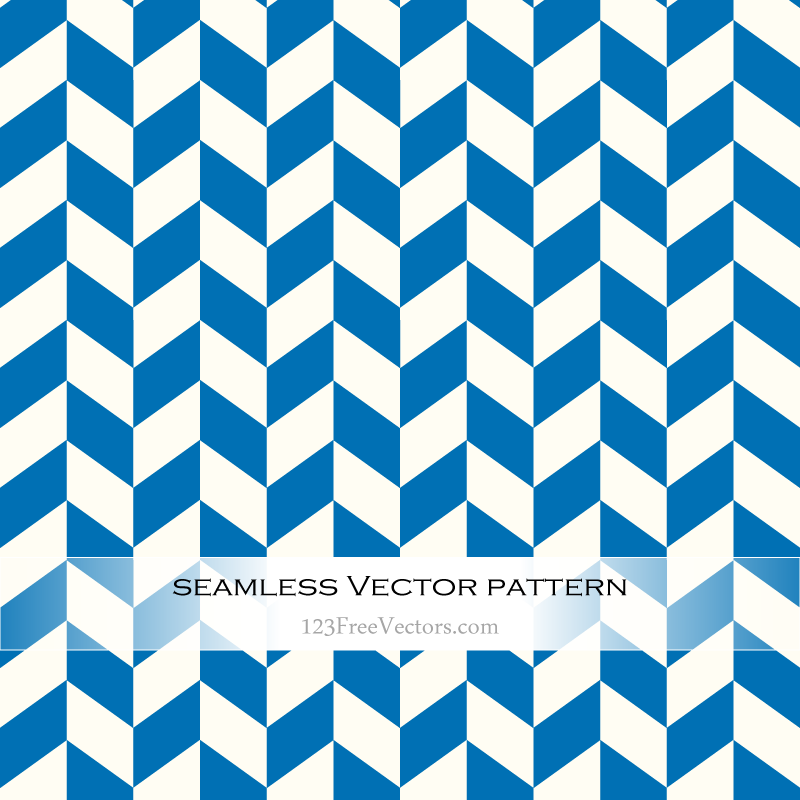 Blue And White Zig Zag Pattern Background Free By 123freevectors