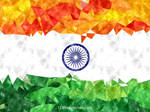 Indian Flag Watercolor Background Free Vector