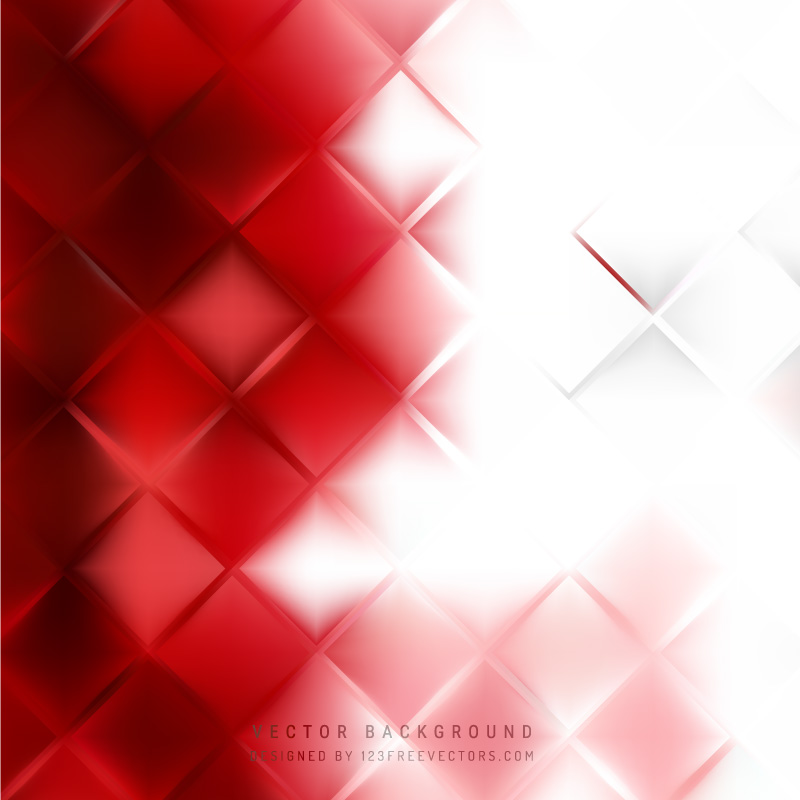 Red White Square Background Free Vector By 123freevectors On Deviantart