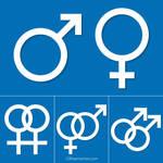 Gender Symbols Free Vector