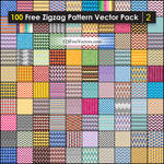 Chevron Zigzag Pattern Background Vector Pack Free