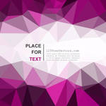 Dark Purple Polygonal Background Free Vector