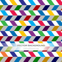 Abstract Colorful Chevron Background Free Vector by 123freevectors