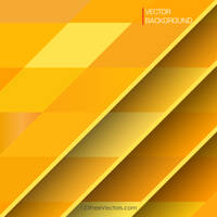 Yellow Geometric Background Free Vector by 123freevectors