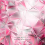 Light Pink Polygon Triangle Background Free Vector