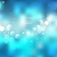 Blue Bokeh Background Stock Free Vector by 123freevectors