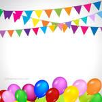 Happy Birthday Background Free Vector