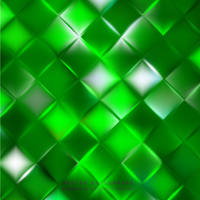Green Geometric Square Background Free Vector by 123freevectors