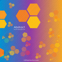 Abstract Geometric Polygon Design Free Vector by 123freevectors