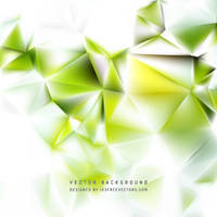 White Green Polygon Triangle Background Free Image by 123freevectors