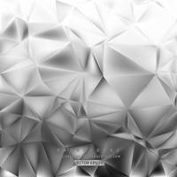Gray Polygon Background Free Vector by 123freevectors