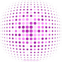 Pink Halftone Background Free Vector by 123freevectors