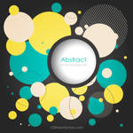 Colorful Circles Background Free Vector