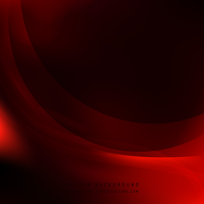 Dark Red Wave Background Free Vector by 123freevectors