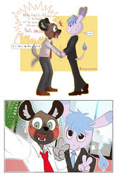 Aggretsuko: Right meeting by Neny-Paradise