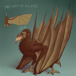 Hooo: HomHa Big Bird