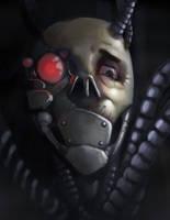 Cyber Horror by Thecosmicgoose