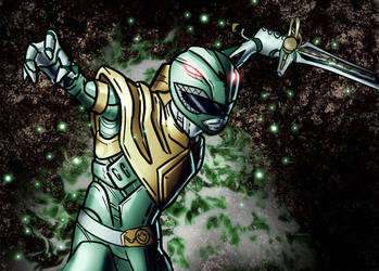 green ranger by Thecosmicgoose