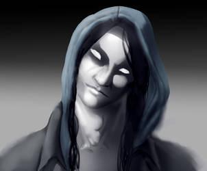 Zeek, the Darkling by Thecosmicgoose