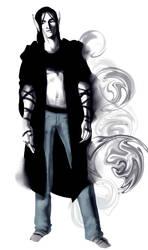 zeek, standing by Thecosmicgoose