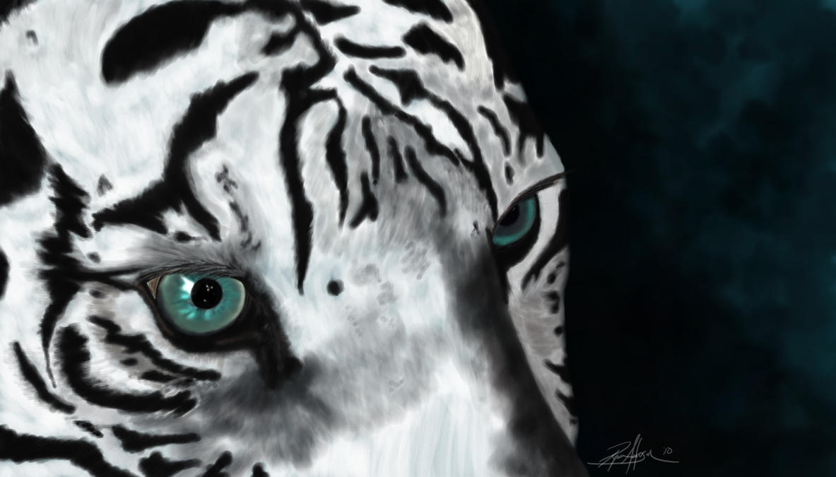 White Tiger by ProjectDarkling