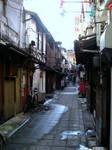 walking along japan...