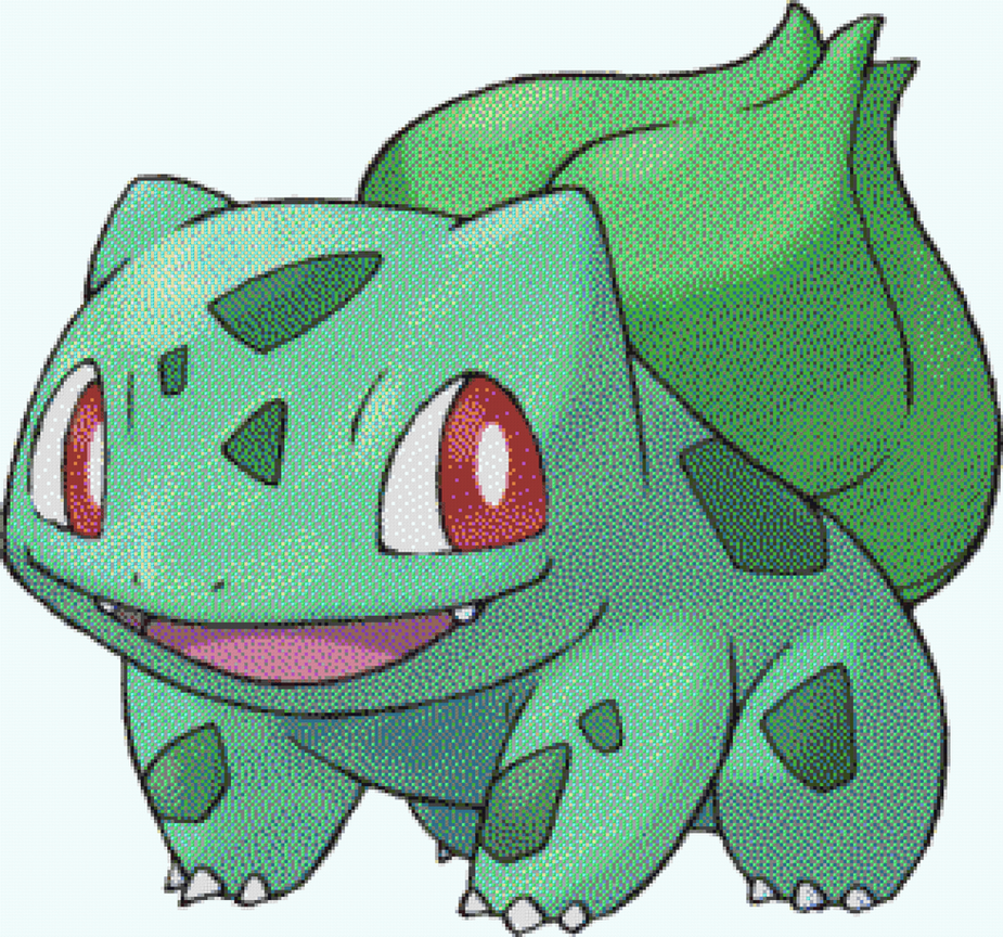 Bulbasaur Minecraft By Pixel Art Pokemon