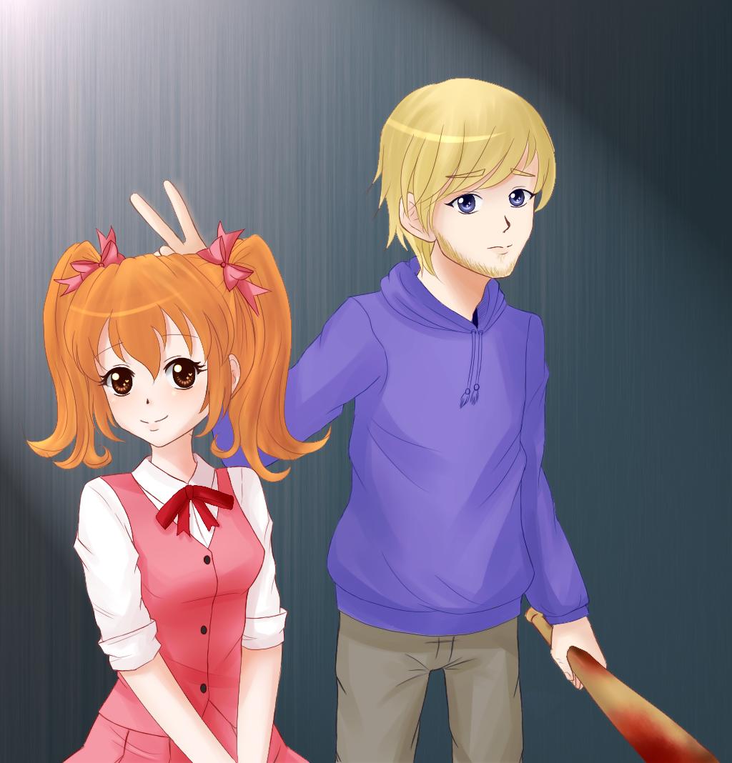 PewDiePie/Aki by Kasumi-r on DeviantArt