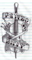 Psychobilly Tattoo by Ex0n