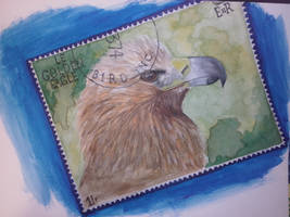 Stamp Painting by S4MMY4RT